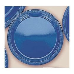 Plate Plastic 17.7cm Royal Blue