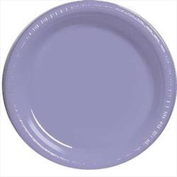 Plate Plastic 22.9cm Lavender