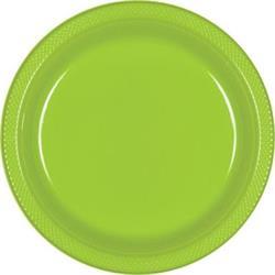 Plate Plastic 22.9cm Kiwi