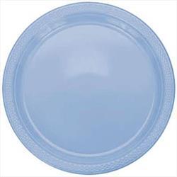 Plate Plastic 26cm Pastel Blue