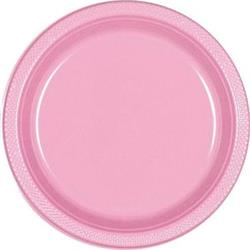 Plate Plastic 26cm New Pink