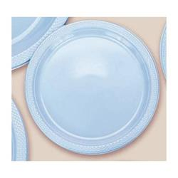 Plate Plastic 26cm Powder Blue