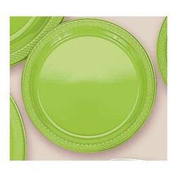 Plate Plastic 26cm Kiwi