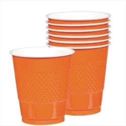 Cup Plastic 355ml Orange Peel