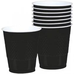 Cup Plastic 355ml Jet Black