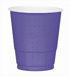 Cup Plastic 355ml New Purple