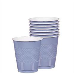 Cup Plastic 355ml Pastel Blue