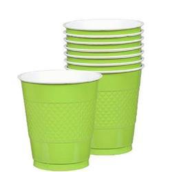 Cup Plastic 355ml Kiwi