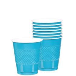 Cup Plastic 355ml Caribbean Blue