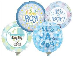 10cm printed Inflated Boy Assorted