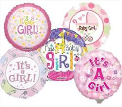 10cm printed Inflated Girl Assorted