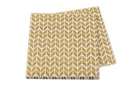 Pop Napkin 3ply Gold Geometric