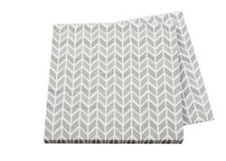Pop Napkin 3ply Silver Geometric