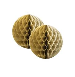 FS Honeycomb Ball Metallic Gold 15cm