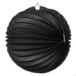 FS Accordian Lantern Black 35cm