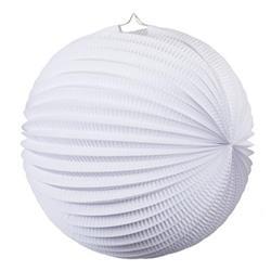FS Accordian Lantern White 35cm