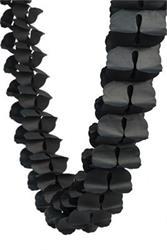 FS Honeycomb Garland Black 4mtr