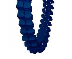 FS Honeycomb Garland Navy Blue 4mtr