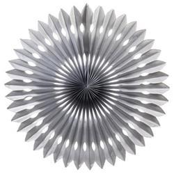 FS Hanging Fan Metallic Silver 40cm