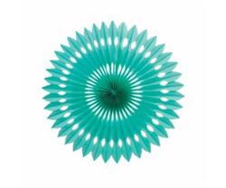 FS Hanging Fan Turquoise 40cm