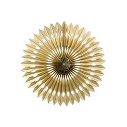 FS Hanging Fan Metallic Gold 24cm