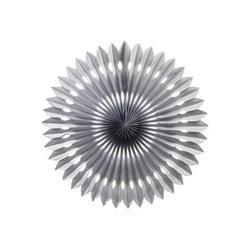 FS Hanging Fan Metallic Silver 24cm
