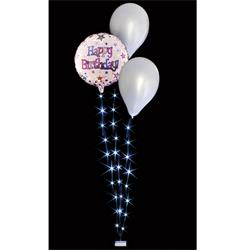 Decor Lites BalloonLite Bouqet 3 Wire with 30 white lights
