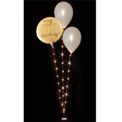 Decor Lites BalloonLite Bouqet 3 Wire with 30 Warm White Lights