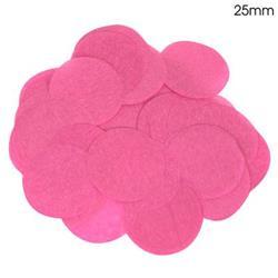 Oaktree 2.5cm Paper Confetti Bright Piink