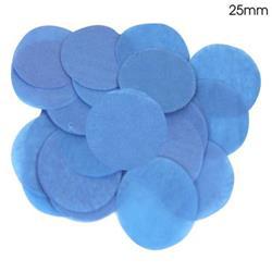 Oaktree 2.5cm Paper Confetti Blue