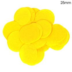 Oaktree 2.5cm Paper Confetti Yellow