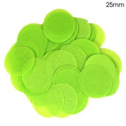 Oaktree 2.5cm Paper Confetti Lime Green