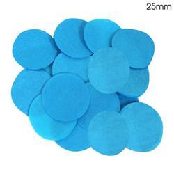 Oaktree 2.5cm Paper Confetti Turquoise