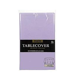 Tablecover Round Lavendar