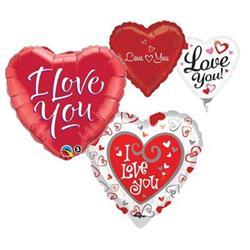 23cm printed Love Asst FLAT