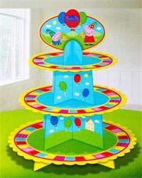 Peppa Pig Cupcake Stand