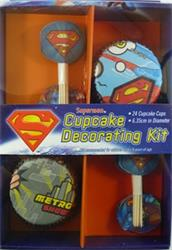 Superman Cupcake Kit