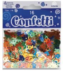 Confetti Metalic Multi 16