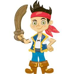 Jake & The Neverland Pirates Air Walker 101cm x 190cm 50% off