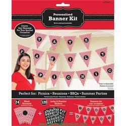 Pennant Banner Personalised Picnic Party.