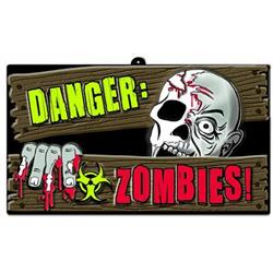 Zombie Vac Form Sign 24cm x 43cm 50% off
