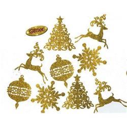 Glitter Holiday Cutouts