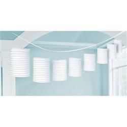 Lantern Garland White 3.65 mtrs