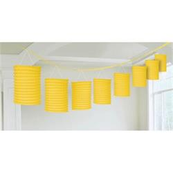 Lantern Garland Yellow 3.65 mtrs