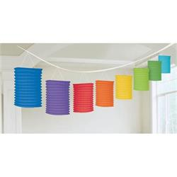 Lantern Garland Multi Primary Colours 3.65 mtrs