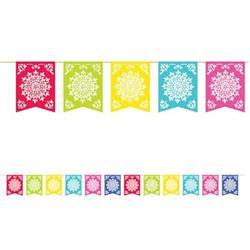 Fiesta Del Sol Flag Banner 3.65mtrs with 12 flags