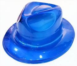 70s Disco Fedora Blue