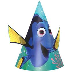Finding Dory Paper Cone Hat Pack 8