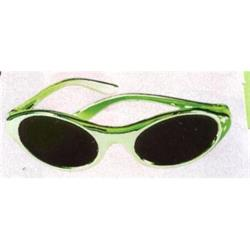 St Pats Sunglasses Oval Green