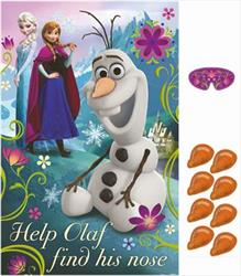 Frozen Party Game help Olaf find his nose